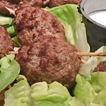 KOFTA: TURKISH MEATBALL SKEWERS