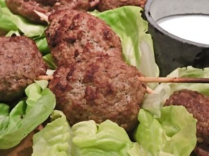 Kofte Turkish Meatballs