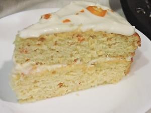 Kumquat Cake Slice